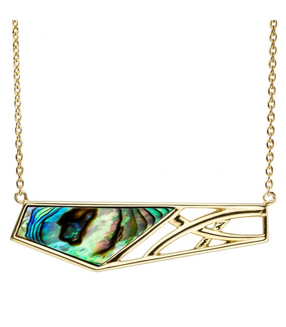 Collier Statement Halskette Abalone - 4053258319789
