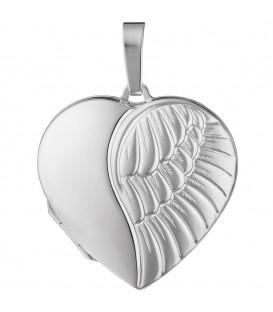 Medaillon Herz Flügel Engelsflügel - 4053258217306