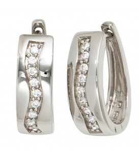 Creolen 925 Sterling Silber - 4053258221143 Produktbild