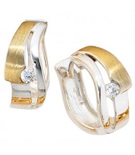 Creolen 925 Sterling Silber - 4053258100080