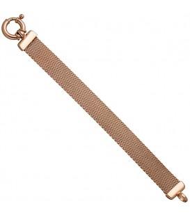 Milanaisearmband 925 Silber rotgold - 4053258321898