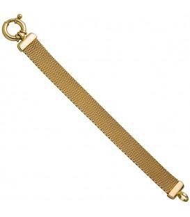 Milanaisearmband 925 Silber gold - 4053258322222