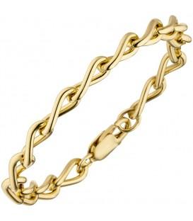 Panzerarmband 925 Silber gold - 4053258319659