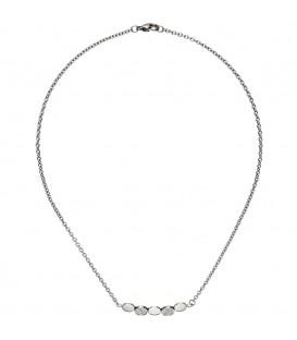 Collier Halskette aus Edelstahl - 4053258334430
