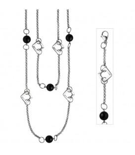 Collier Halskette 2-reihig aus - 4053258302828