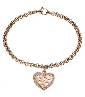 Armband mit Anhänger Herz - 4053258303443