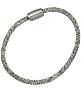 Strumpfarmband Edelstahl 19 cm - 4053258106730