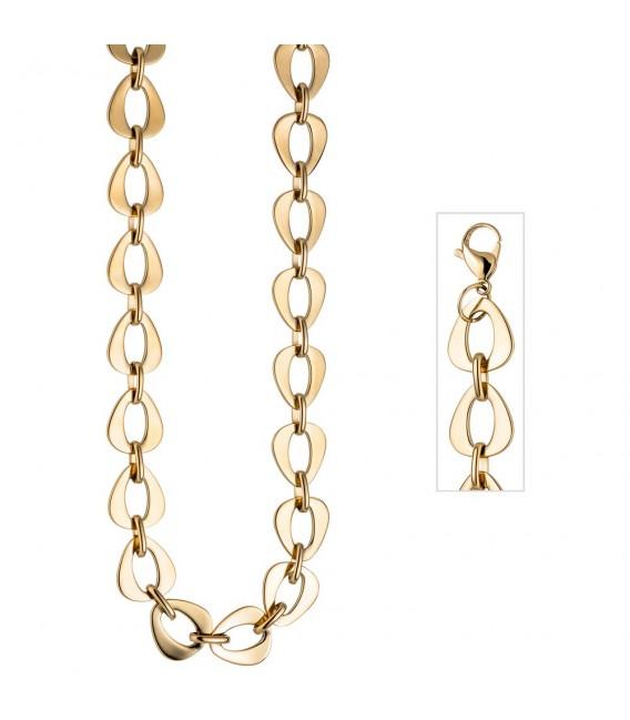 Collier Halskette aus Edelstahl - 4053258302491 ...