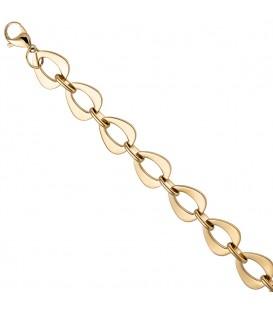 Armband aus Edelstahl gold - 4053258302507