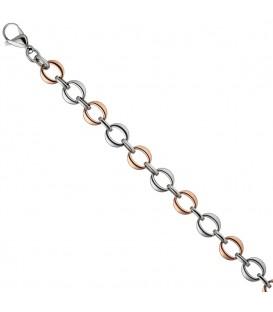 Armband aus Edelstahl rotgold - 4053258302682
