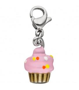 Einhänger Charm Muffin Edelstahl - 4053258312810
