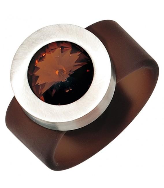 Damen Ring braun PVC - 4053258241264 Zoom
