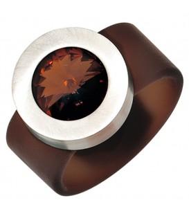 Damen Ring braun PVC - 4053258241264 Produktbild