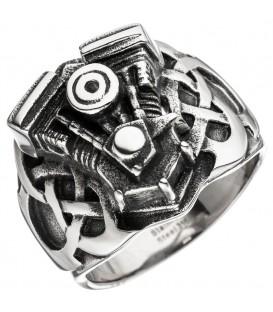 Herren Ring Motor Motorblock - 4053258312483