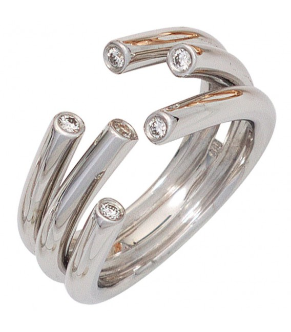 Damen Ring offen 585 - 4053258041994 Zoom