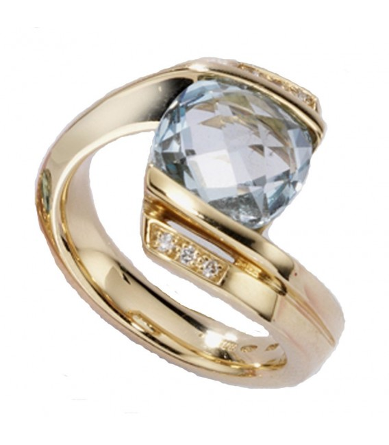 Damen Ring 585 Gold - 4053258052426 Zoom