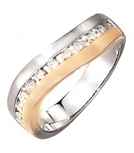 Damen Ring 585 Gold - 4053258035641