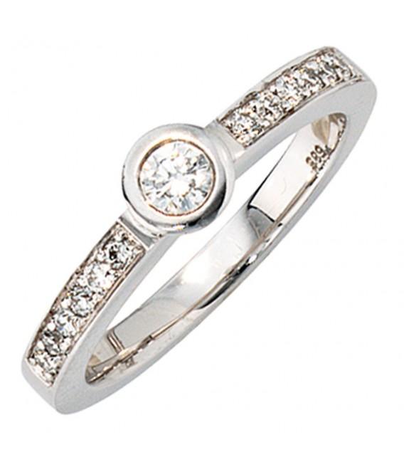 Damen Ring 585 Gold - 4053258034675