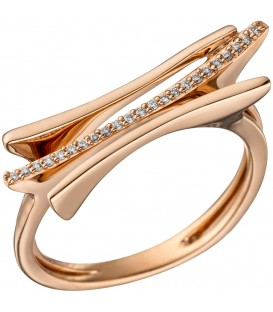 Damen Ring 585 Gold - 4053258317402