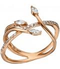 Damen Ring verschlungen 585 - 46765