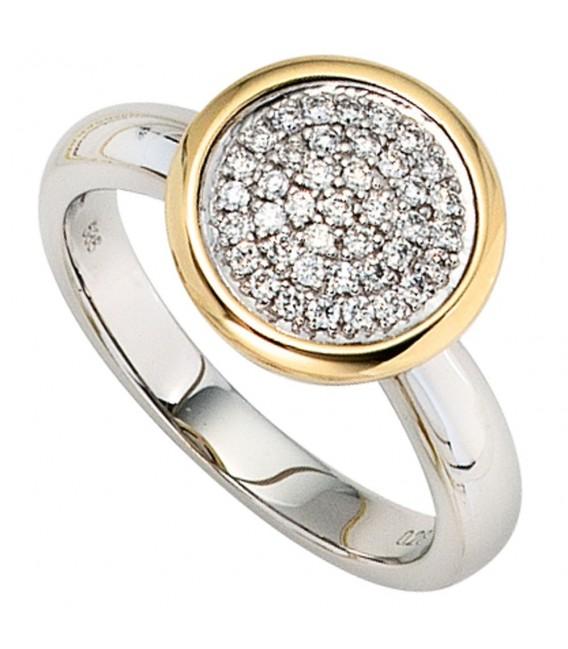 Damen Ring 585 Gold - 4053258036402