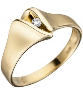 Damen Ring 585 Gold - 4053258313428