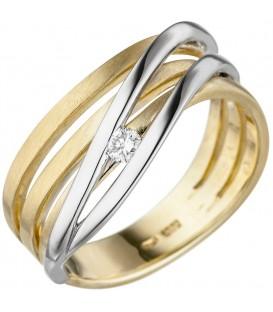 Damen Ring 585 Gold - 4053258343968