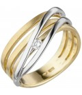 Damen Ring 585 Gold - 49170