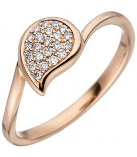 Damen Ring 585 Gold - 4053258342619