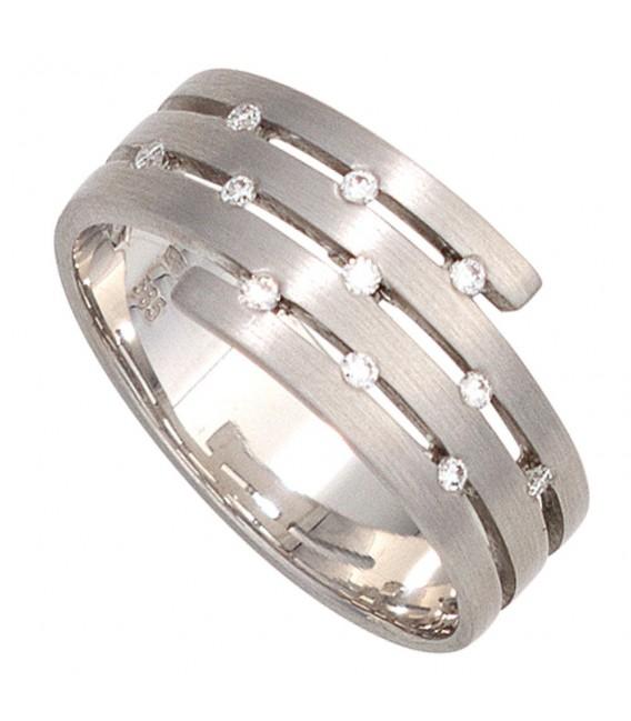Damen Ring breit 585 - 4053258041611