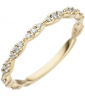 Damen Ring 585 Gold - 4053258333259