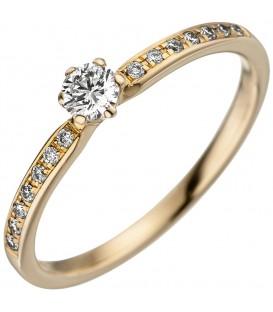 Damen Ring 585 Gold - 4053258339435