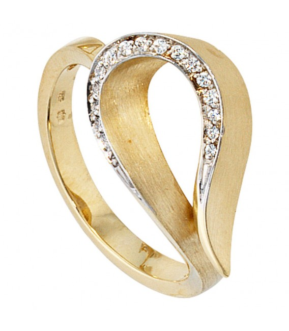 Damen Ring 585 Gold - 4053258039373