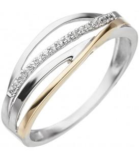 Damen Ring 333 Gold - 4053258332863