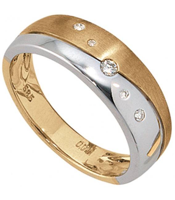 Damen Ring 585 Gold - 4053258039755 Zoom