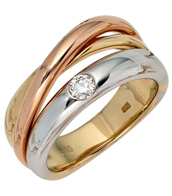 Damen Ring 585 Gold - 4053258043011