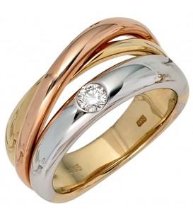 Damen Ring 585 Gold - 4053258043011