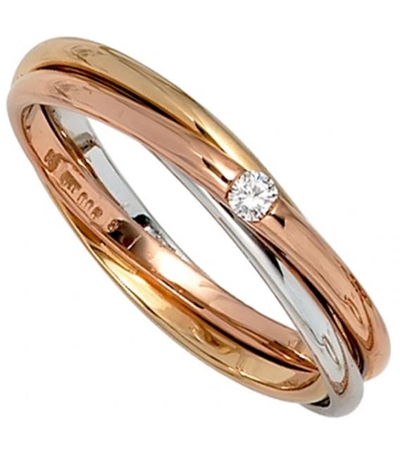 Damen Ring verschlungen 585 - 4053258041840