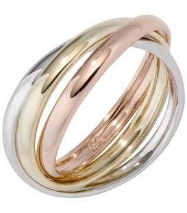 Damen Ring 3-reihig 585 - 4053258289204