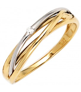 Damen Ring 585 Gold - 4053258233122