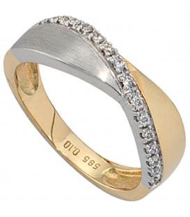 Damen Ring 585 Gold - 4053258039830