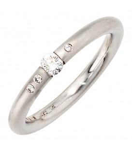 Damen Ring 950 Platin - 4053258043523