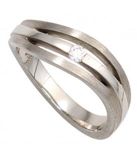 Damen Ring 950 Platin - 4053258247211