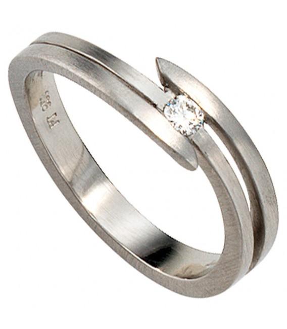 Damen Ring 950 Platin - 4053258043677