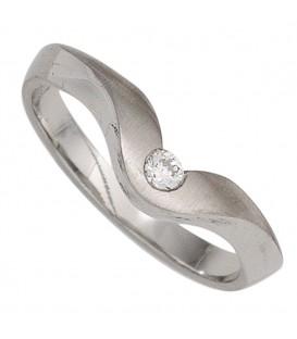 Damen Ring 950 Platin - 4053258247310