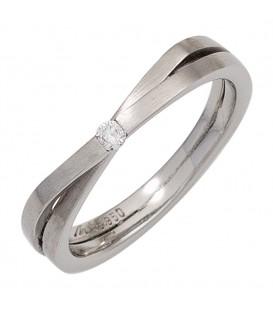Damen Ring 950 Platin - 4053258247389