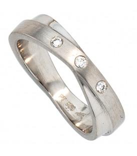 Damen Ring 950 Platin - 4053258043080