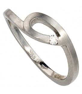Damen Ring 950 Platin - 4053258044070