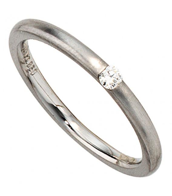 Damen Ring 950 Platin - 4053258043813