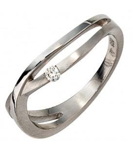 Damen Ring 950 Platin - 4053258043912